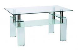 Konferenčný stolík STELA, priesvitný