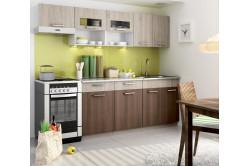 Kuchyňa MOREEN II 240, dub sonoma