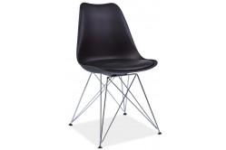 TIMO jedálenská stolička, čierna