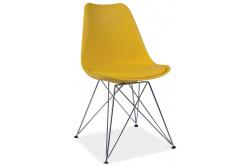 TIMO jedálenská stolička, žltá