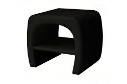 » ORLEENS nočný stolík, čierny