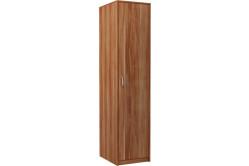 VILMA 1D 1-dverová skriňa s vešiakovou tyčou, slivka walis