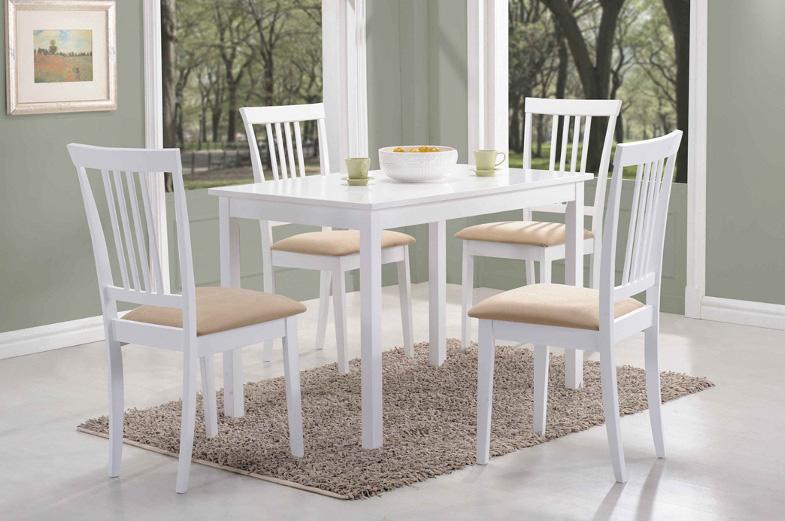 FORD jedálenský stôl 110x70 cm, biely