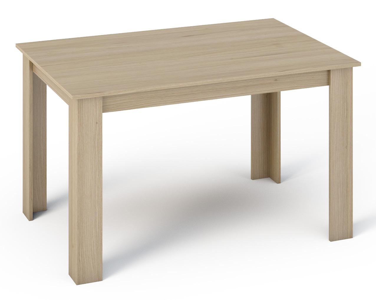 KONGI jedálenský stôl 140, dub sonoma