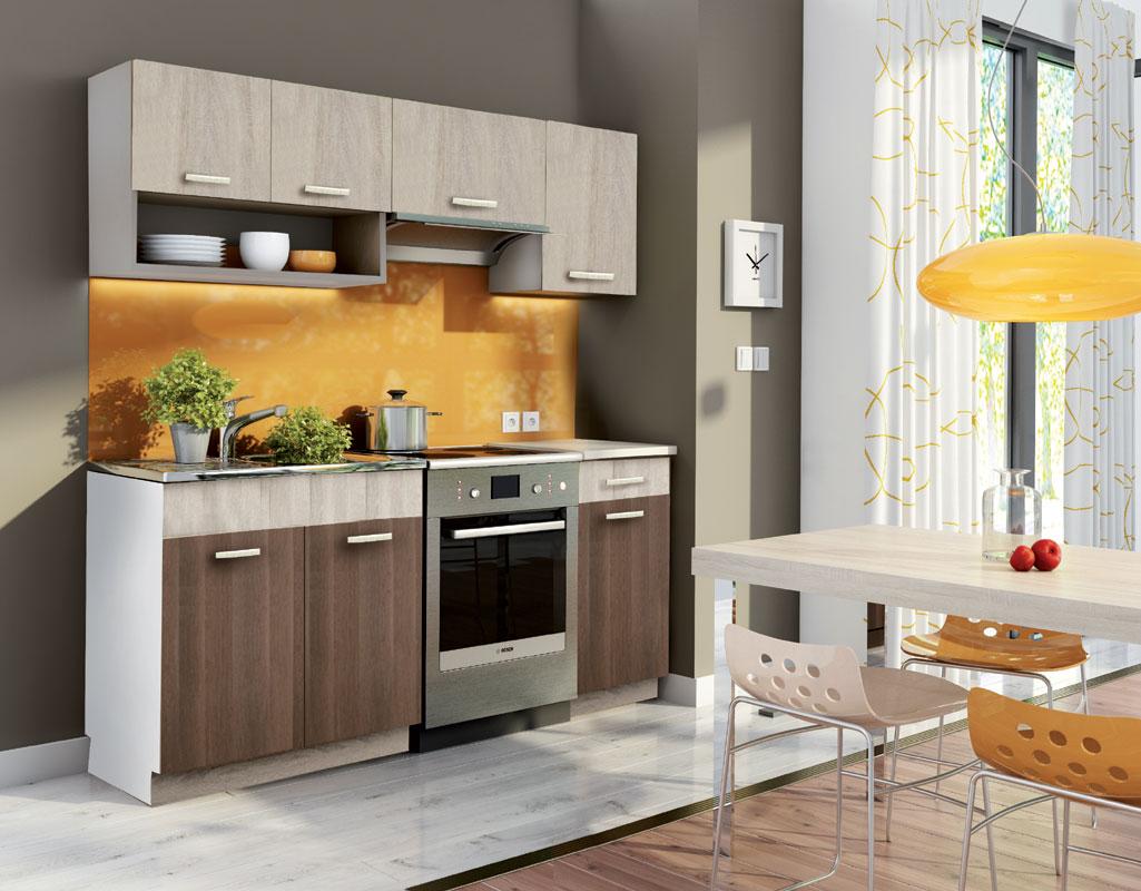 Kuchyňa MOREEN 180, dub sonoma