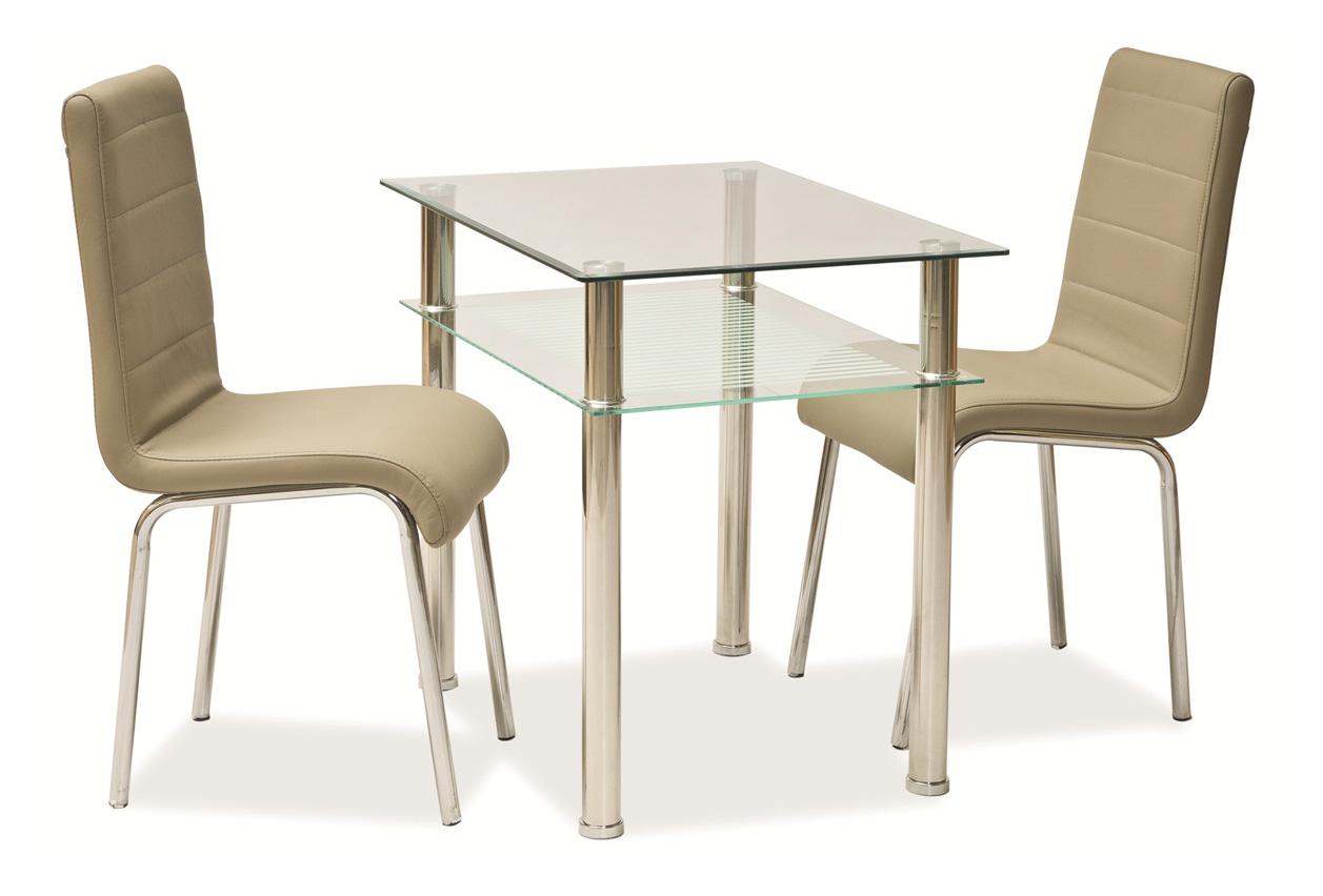 Byvajsnami SK, PIXI, 80x60 cm, chróm/transparent