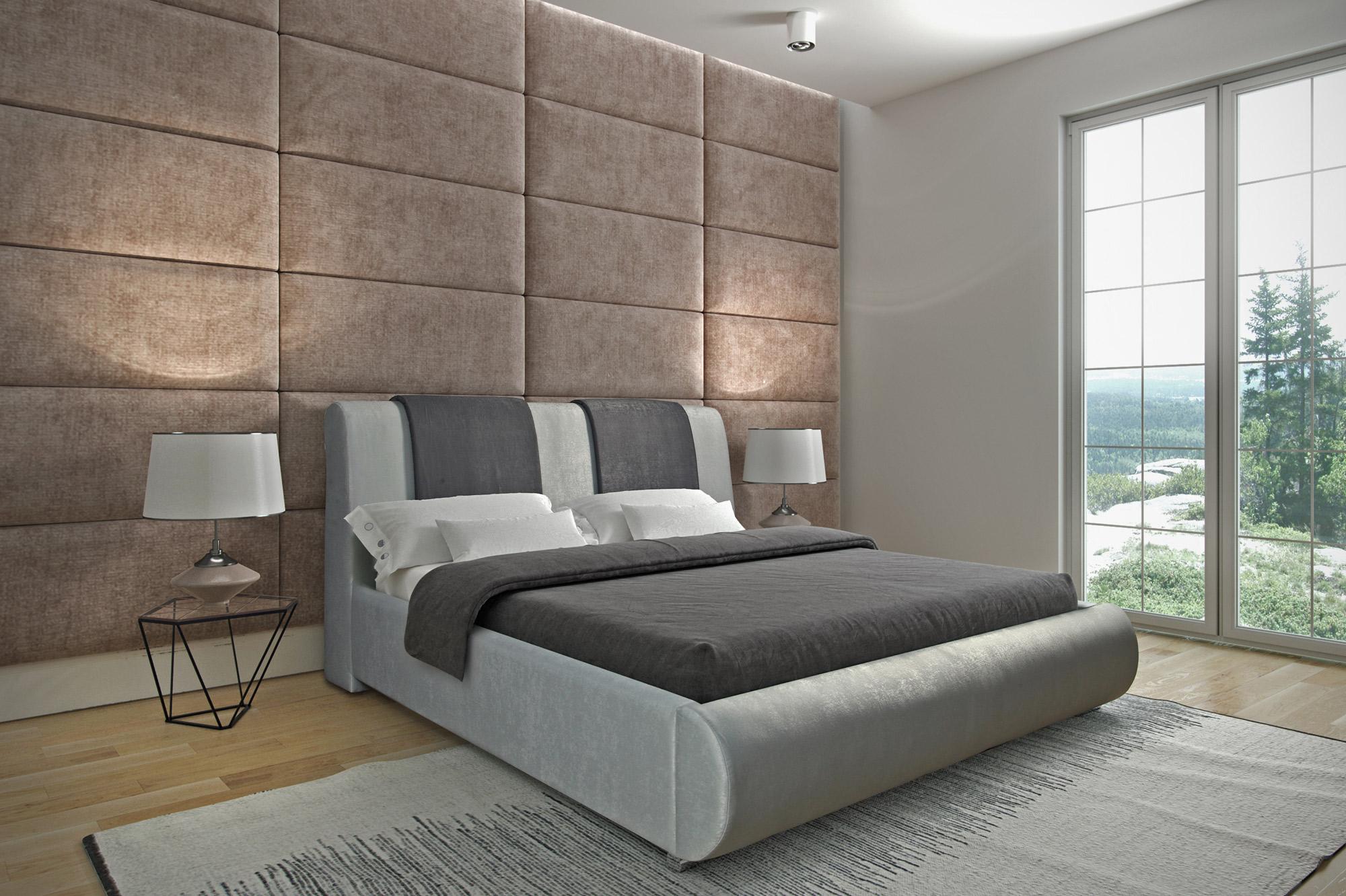 PLATINA čalúnená posteľ 180