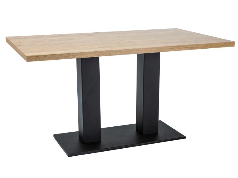MELKOR jedálenský stôl 120x80 cm, prírodná dýha