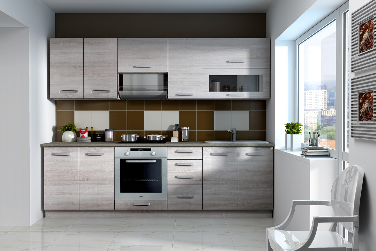 >> SONOME kuchyňa 240 bez PD