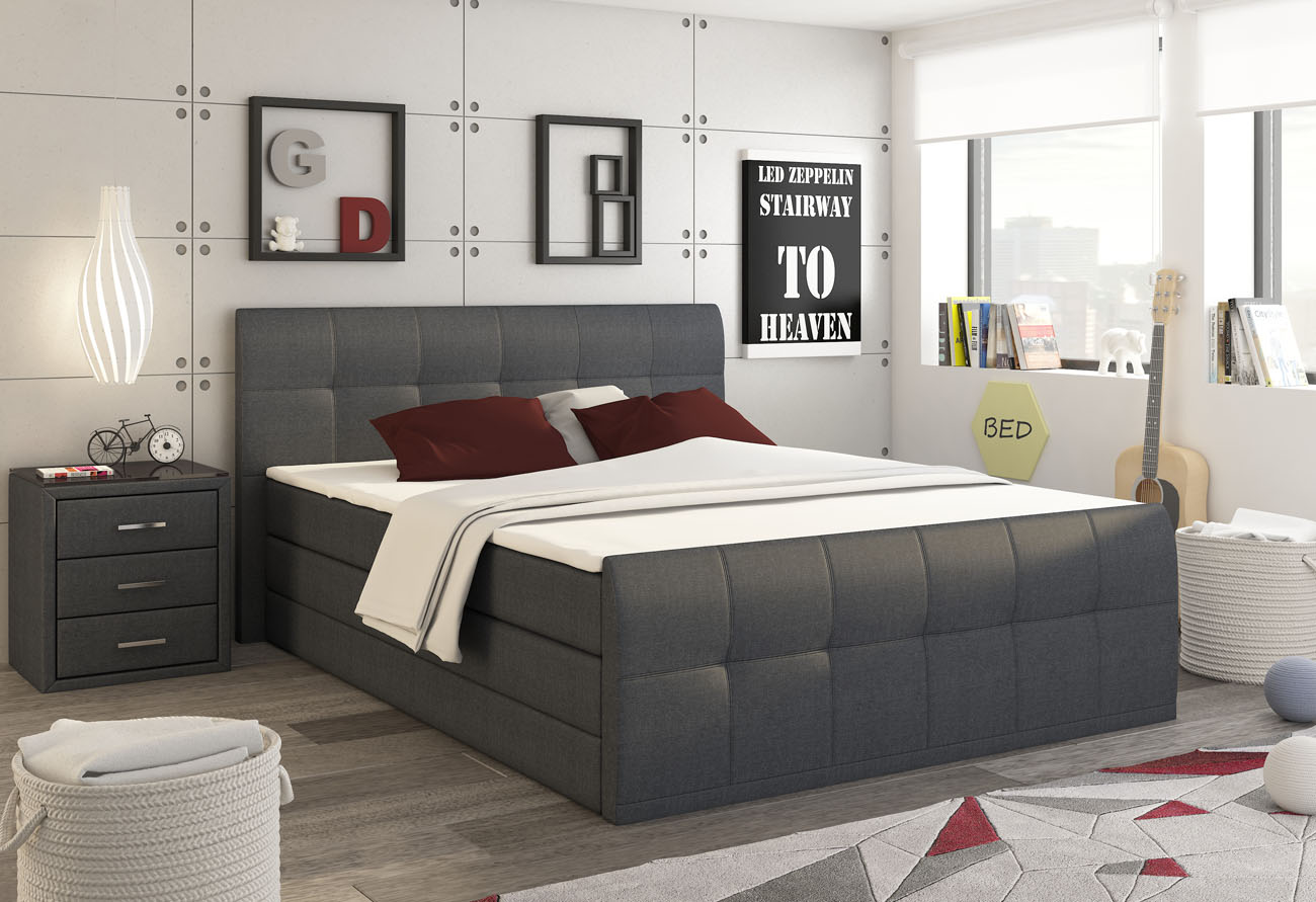 CONTA LUX posteľ 180 Inari 96