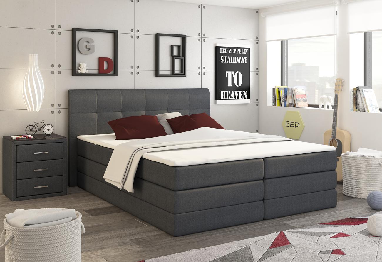E-CONTA posteľ 180 Inari 96