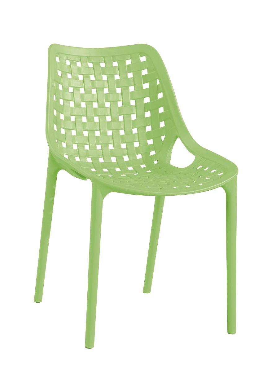 >> TERY plastová stolička, zelená