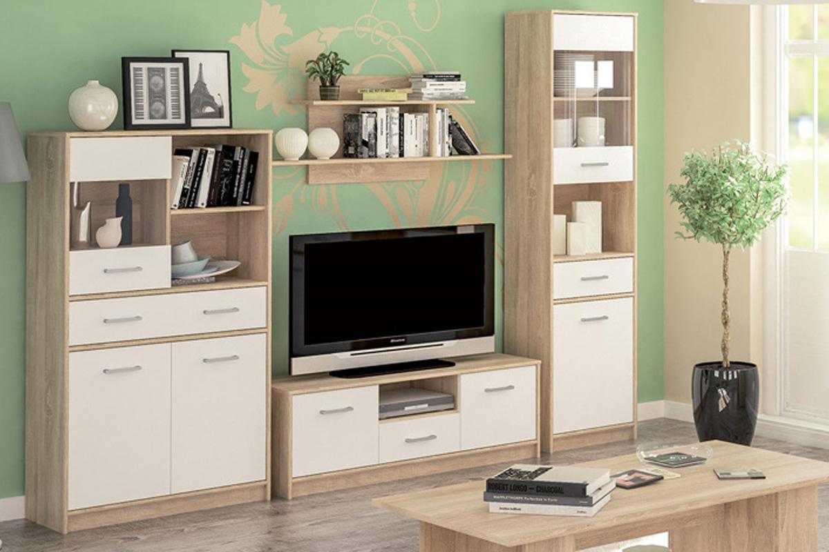 OLINO lacná obývacia stena