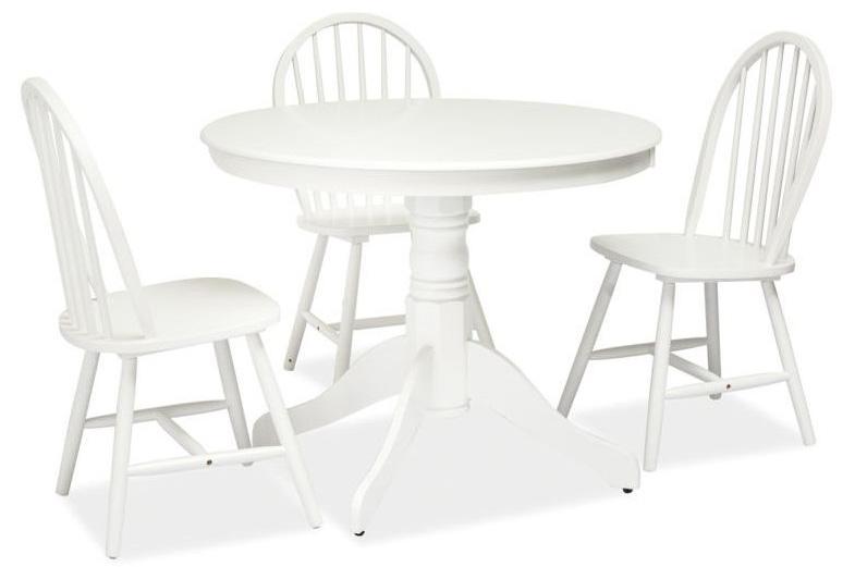 WINDI jedálenský stôl, biely